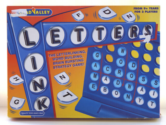 Chad Valley Link Words Making Letters Into Crosswords Ebay