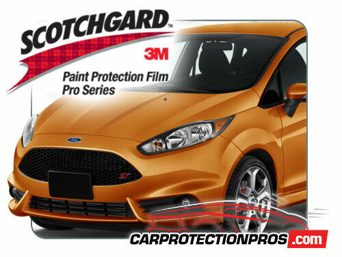 2019 Ford Fiesta ST 3M Pro Series Clear Bra Deluxe Paint Protection Kit