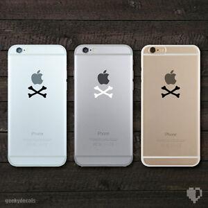 Crossbones-iPhone-Decal-iPhone-Sticker-Skin-Cover