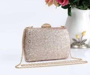 8496cc413a6 Details about LeahWard Women's Clutch Bag Glitter Evening Purse For Wedding  School Prom Party
