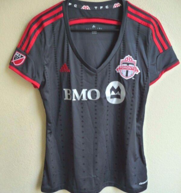 Women s MLS Adidas Toronto F.C. Short Sleeve Replica Soccer Jersey L NWT  M38522 8e9f07fc3