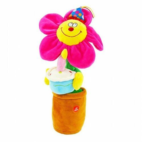 """Tanzende Blume singt /""""Happy Birthday/"""" tanzt Geburtstagsgeschenk Plüschblume"""
