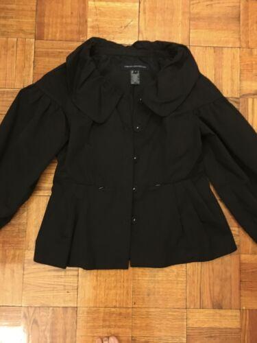 French Connection Black Jacket Blazer Size 4 Smal… - image 1