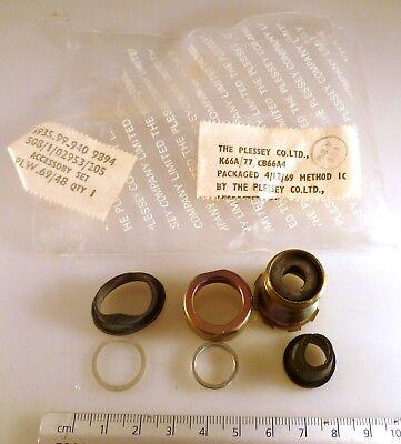 Plessey 508//1//02953//205 Conector de especificación militar conjunto de accesorios MBG011g