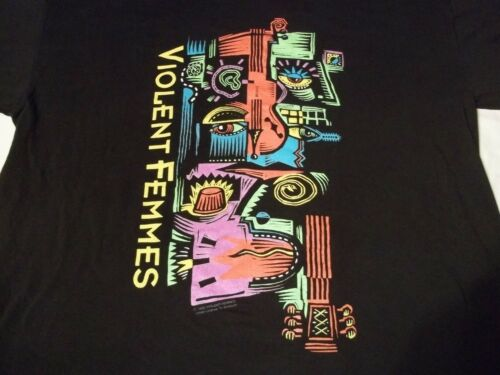 Vtg VIOLENT FEMMES 1992 Concert Tour USA MADE Orig