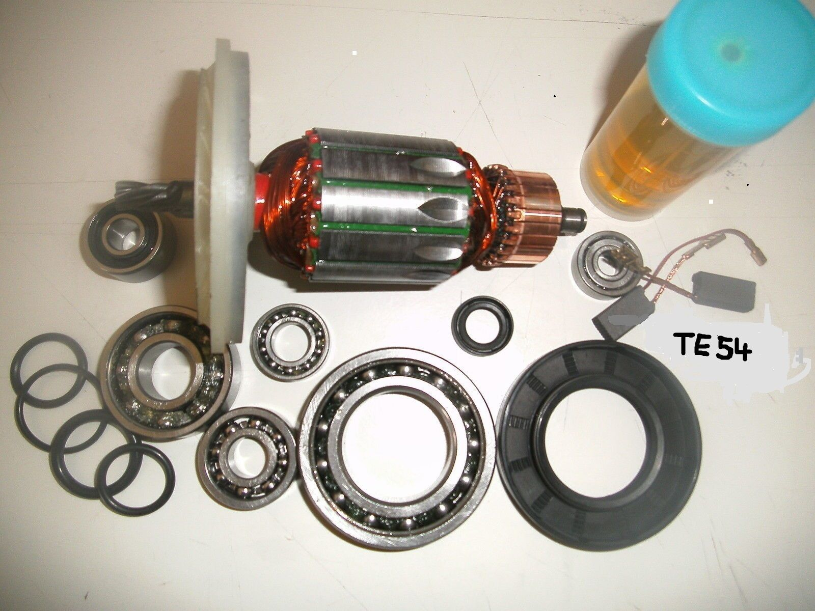 Hilti TE 54 Anker, Rotor und Reparatursatz komplett