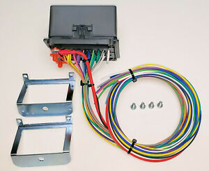 details about 24 volt universal waterproof fuse relay box panel cooper bussmann humvee 24v 12 Volt Wiring