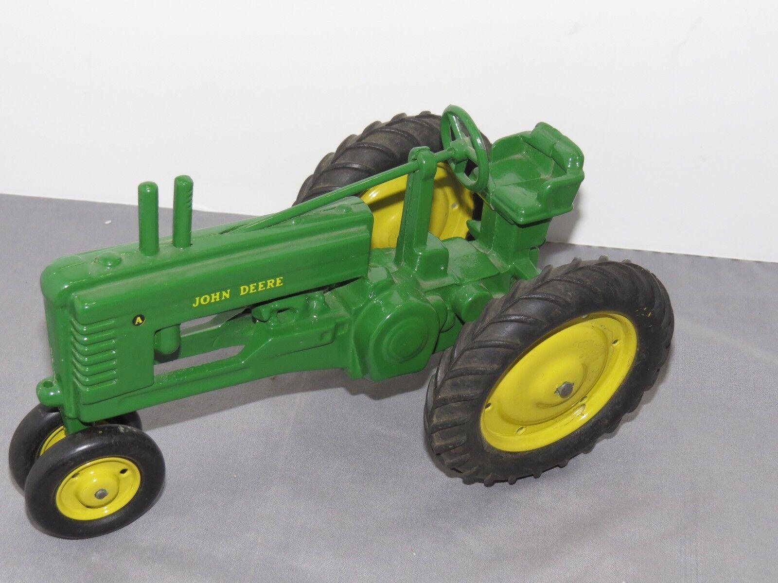 Vintage John Deere Deere Deere High Post Model B A Toy Tractor ERTL Hard to Find 1 16 SHARP  e2d01b