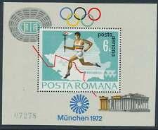 Rumänien Block 93 postfrisch / **, Olympiade 1972 (18616)