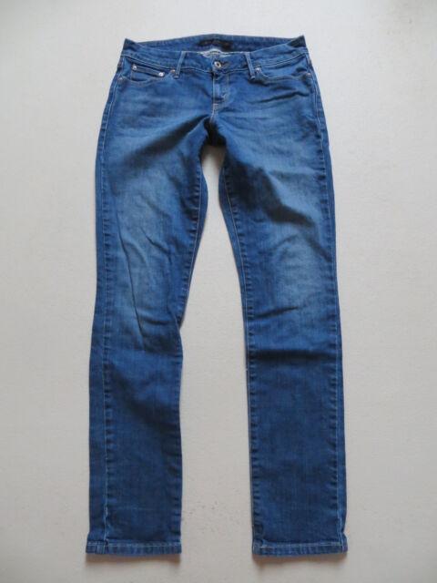 Levi's ® Skinny Leg Jeans Hose, W 30 /L 32, blue Faded Denim mit TOP Waschung !