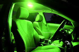 Holden-HSV-Clubsport-VY-VZ-Sedan-Green-LED-Interior-Light-Upgrade-Kit