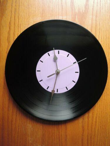 Vinyl Record Wall CLOCK Recycled Album SILENT SWEEP MOTION QUARTZ CLOCK