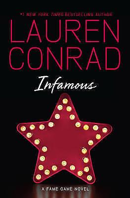 1 of 1 - INFAMOUS - Lauren Conrad Paperback Book
