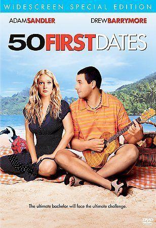 50 First Dates DVD, 2004, Special Edition - Widescreen - Brand New - Sandler - $3.99