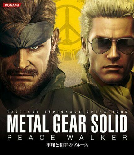 Metal Gear Solid Peace Walker Psp Heiwa To Wahei No Blues Konami Music Cd For Sale Online Ebay The hamburgers of kazuhira miller запись закреплена. metal gear solid peace walker psp heiwa