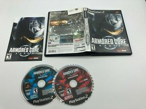 Sony-PlayStation-2-PS2-CIB-Complete-Tested-Armored-Core-Nexus-Ships-Fast