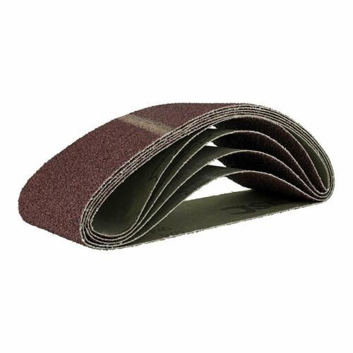 10 Tissue Sanding Belts 75 x 457 mm Grain 240 Sanding Belt Sandpaper Sanding