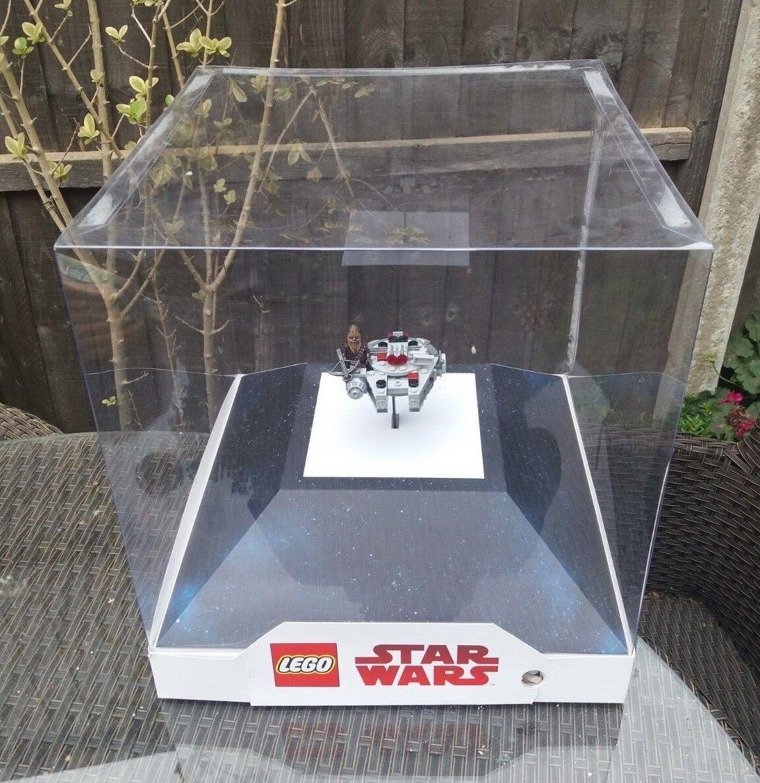 LEGO STAR WARS LIGHT BOX DISPLAY 75193 MICRO FIGHTER MILLENNIUM FALCON CHEWBACCA