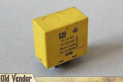 899623 /_TESTED RELAY/_ Opel 12V 6Pin # 90060264