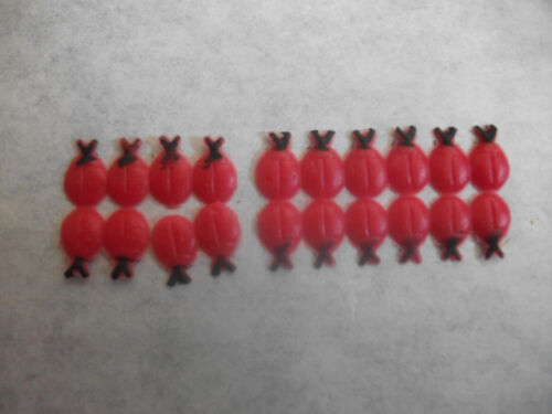vela incluso diseñar mariquitas Wachsornament despierta arte mini