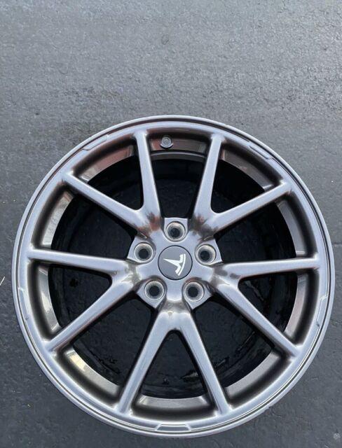 "18"" Tesla Model 3 Aero OEM Factory Original Wheels Rims ..."