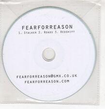 (HF737) Fear For Reason, Stalker / Roads / Redshift - DJ CD