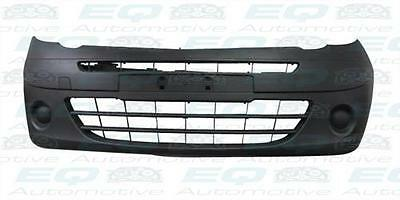 RENAULT KANGOO 2009-2013 FRONT BUMPER NO LAMP HOLES BLACK FINISH