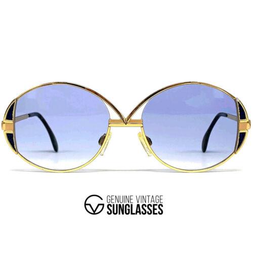 Vintage Cazal 241 Gold Sunglasses - W.Germany '80s