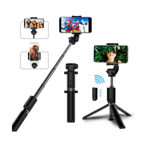 Extendable Bluetooth Selfie Stick Wireless Remote Tripod Stand iPhone 11 / Max