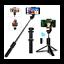 miniatuur 1 - Extendable Bluetooth Selfie Stick Wireless Remote Tripod Stand iPhone 11 / Max