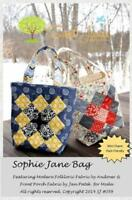 Sophie Jane Bag Pattern By Sweet Jane's 2.5 X 2.5 Mini Charm Pack Friendly