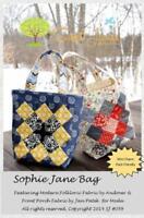 Sophie Jane Bag Pattern By Sweet Jane's 2.5 X 2.5 Mini Charm Pack Friendly