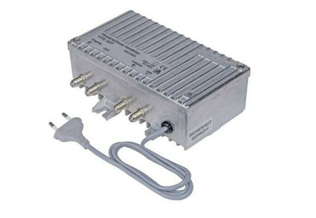Kathrein VOS 32/F Hausanschluss-Verstärker - Prüfbuchse - Kabelfernsehen - SAT