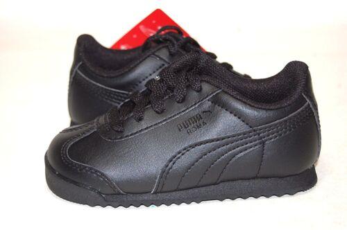 Puma Roma Basic Black 354260 12 Baby Toddler Shoes