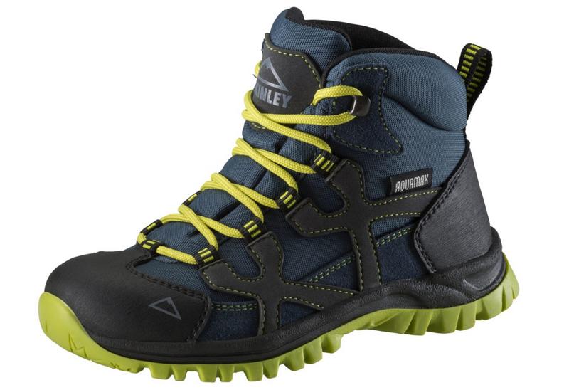 McKinley Kinder Trekkingstiefel Santiago Santiago Santiago Pro AQX JR Wanderstiefel Grau Blau Neu ff26b2