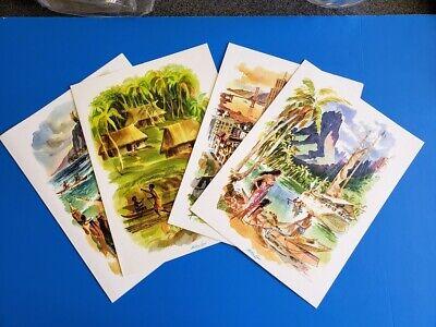 Vintage Matson Line Menu Cover Hawaii SS Lurine and Matsonia  Print