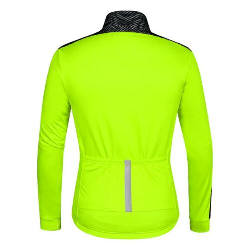 hiver vestes de cyclisme molleton thermique coupe-vent à manches longues