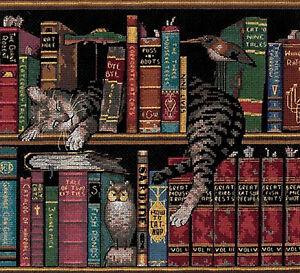 Cross Stitch Kit ~ Dimensions C. Wysocki Library Cat Frederick Literate #35048