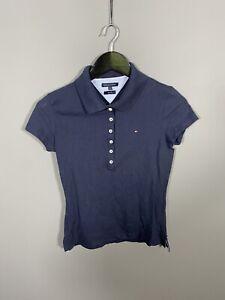Tommy Hilfiger Poloshirt-Small-Slim Fit-navy-super Zustand-Damen