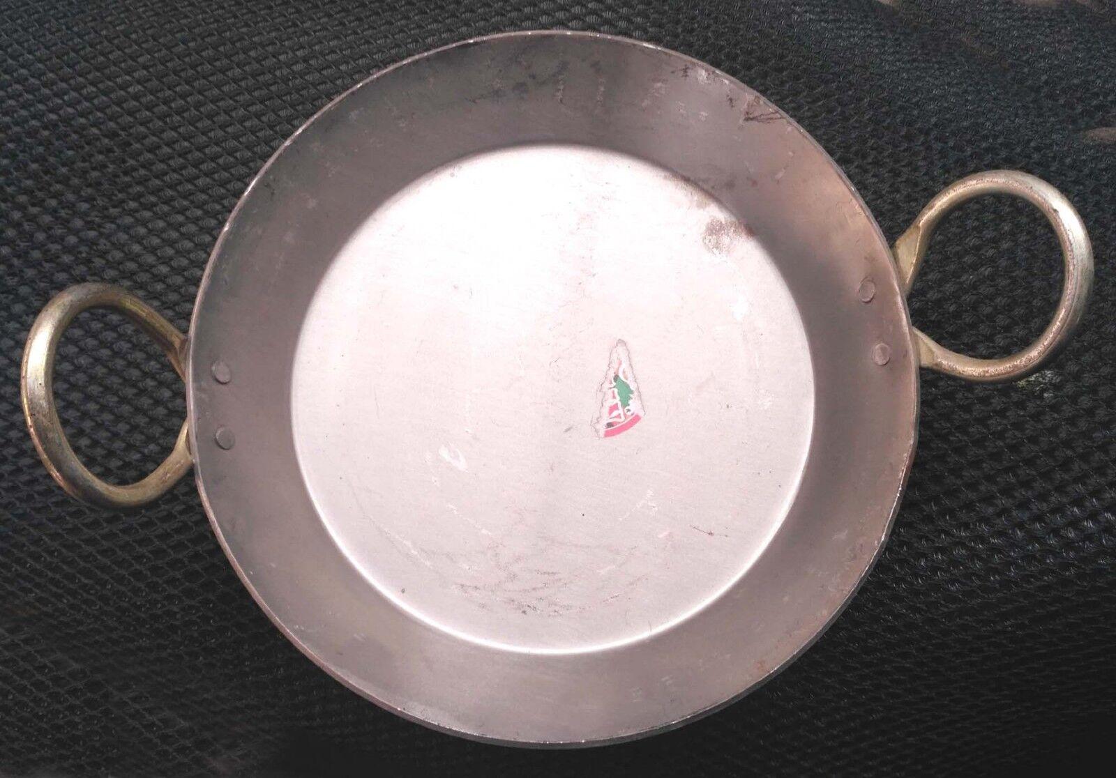"""Indian Flat Iron Jalebi Kadai Skillet Kadhai Cookware Fry Pan sweet from 9-15 /"""""""