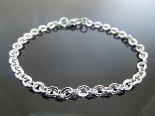 4mm Edelstahl Kabel Kette Armband oder Fußkettchen Fußkette ~ Wähle Länge