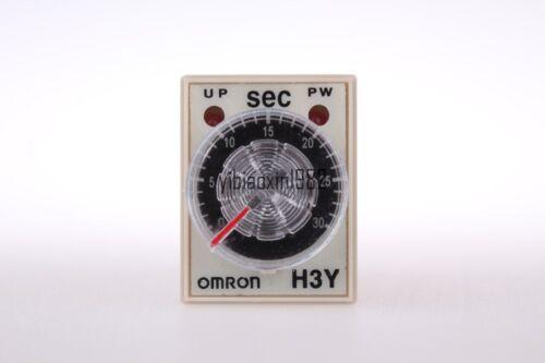 10pcs  time timer  delay relay 8pin H3Y-2 H3Y DC 24V 5A 1.0-30 Seconds 30S
