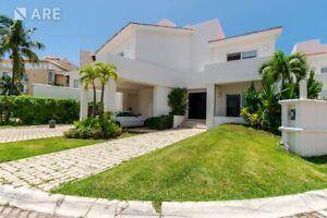 Casa amueblada en Renta Isla Dorada Residencial Cancun