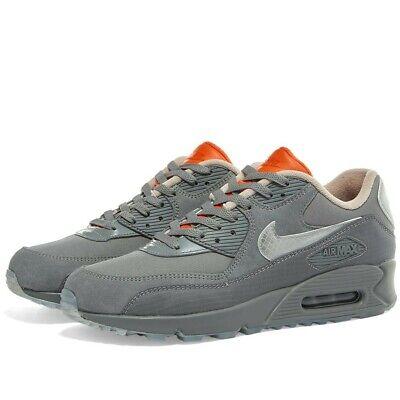 Nike Air Max 90 Basement bsmnt Glasgow rauchgrau Orange UK 7 8 9 10 US | eBay