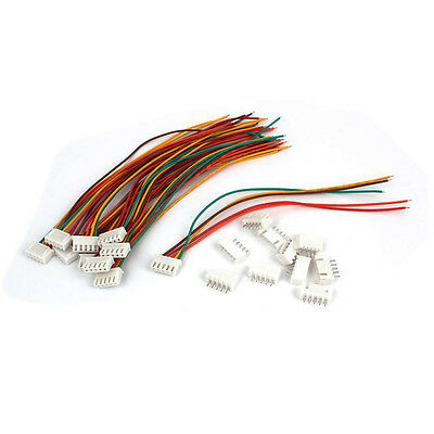 15cm RC 4S Lipo Balance Charger Cable Extension Lead Connector 10 Pcs HY