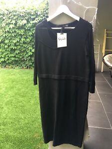 Per-Una-Size-20-Black-Dress