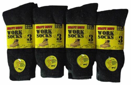 Homme Chaussettes De Travail Résistant Builders Botte Randonnée Marche Hiver Work Wear Chaud Sock