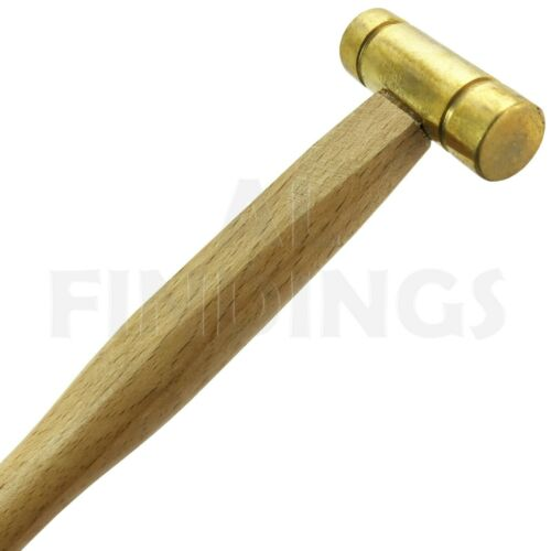 2oz BRASS HAMMER FLAT HEADS SOLID BRASS METAL SMITH HOBBY CRAFT JEWELLERS TOOLS