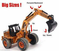 Radio Remote Control RC JCB Style  Excavator Digger Truck  Construction Toy UK