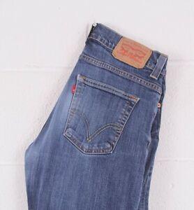 Vintage-Levi-039-s-506-Bleu-Coupe-Droite-Homme-Jeans-W32-L32